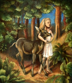 Alice and faun