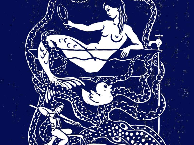 A Mermaid in the Bath