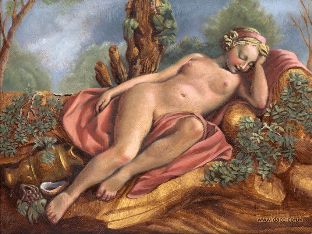 Sleeping Maenad
