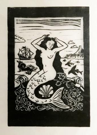 St Doris Island mermaid 2