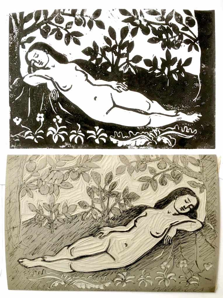 Nymph in a wood after Dossi Dossi.
